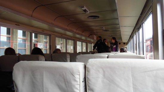 Estrada de Ferro Morretes- Curitiba: E olha que este vagão é o Executivo, o mais caro.