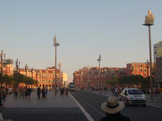 sight of Place Massena