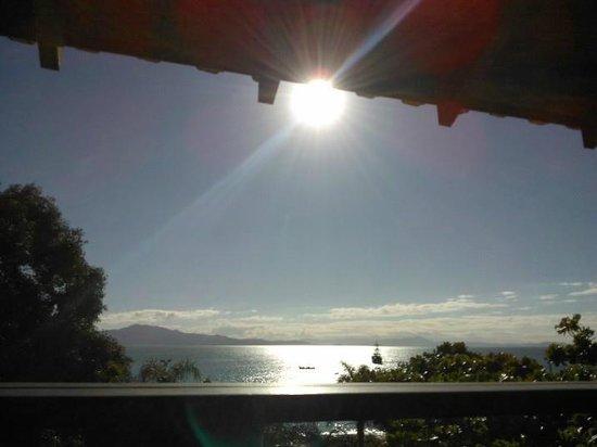 Hotel Maratea Mare: Varanda do quarto com vista para o mar!