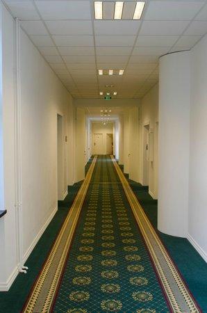 Milling Hotel Park, Middelfart: Rooms corridor