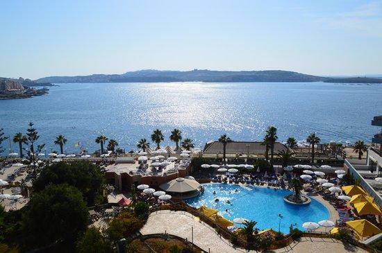 Dolmen Resort Hotel: Terrace View