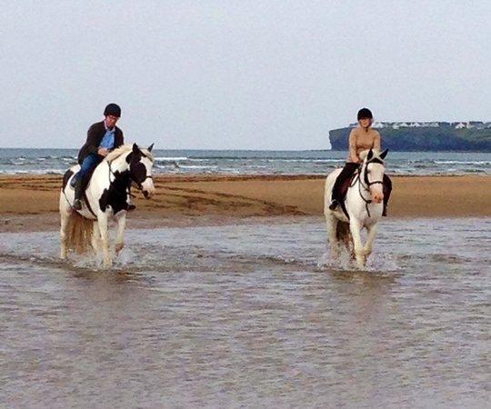 Drumcliffe Equestrian: Peaceful ride along the beach