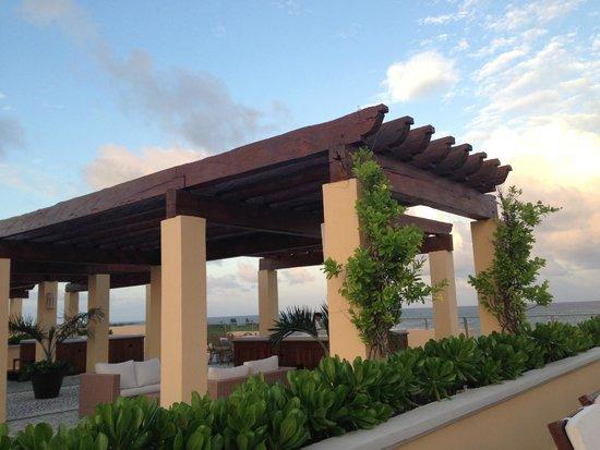 Hacienda Tres Rios: Roof Top Area of La Herencia