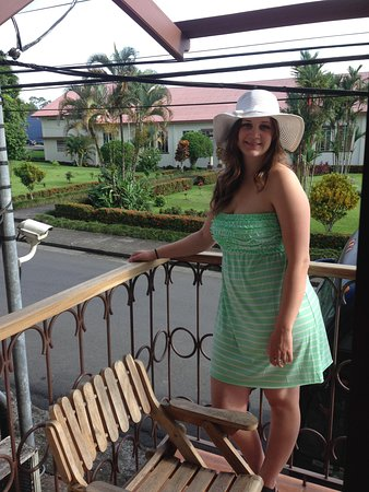 Hotel Arenal Bromelias: a view from the balcony