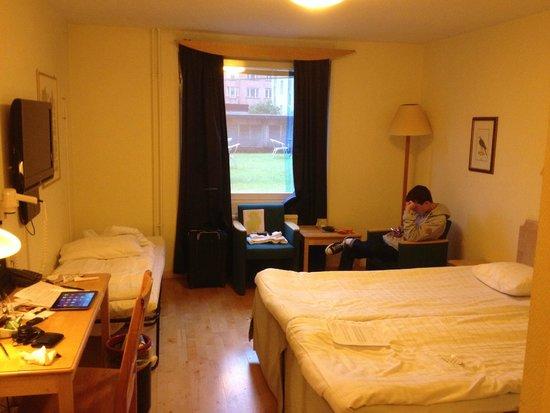 Profilhotels Hotel Uppsala: Standard triple room