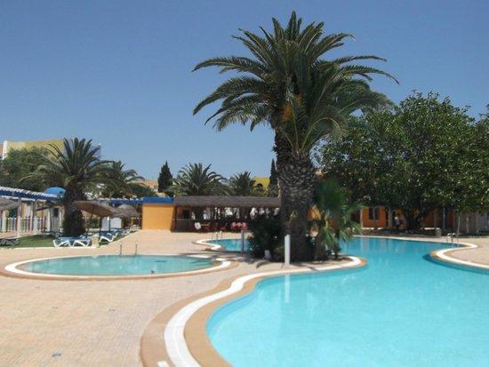 Caribbean World Hammamet Garden : 2ème piscine (au calme)