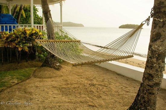 Villa Beach Cottages : Hammock