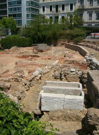 Kotzia Square : Altro scorcio degli scavi.