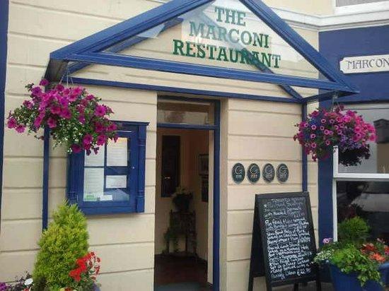 Marconi's : Front door
