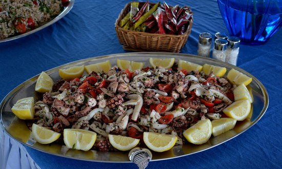 Hotel Tamerici : insalata di pesce