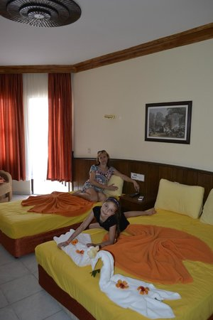 Fatih Hotel Kleopatra: наш номер
