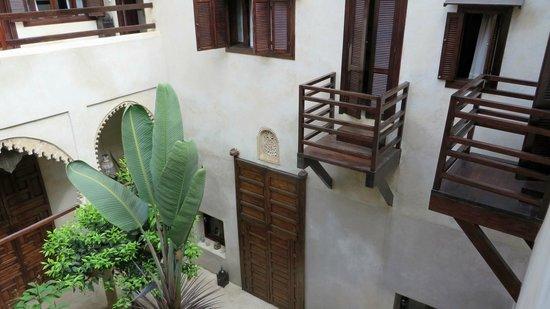 Riad El Maati : rooms facing interior courtyard