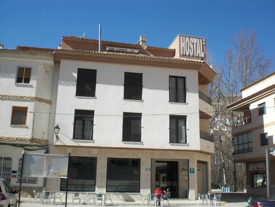 Hostal Alcala del Jucar: Het Hostel
