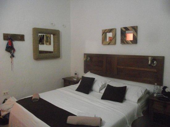 Posada La Cigala: o quarto pequeno é muito aconchegante