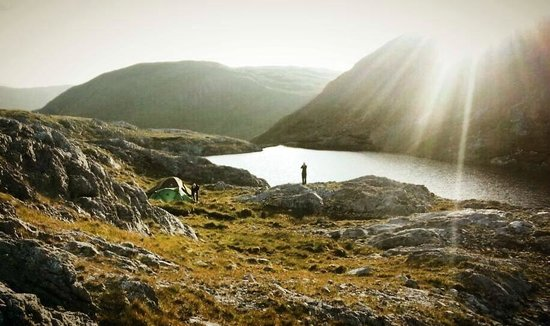 County Galway, Irlandia: wild camping in Connemara, Co Glaway with wildfullstop