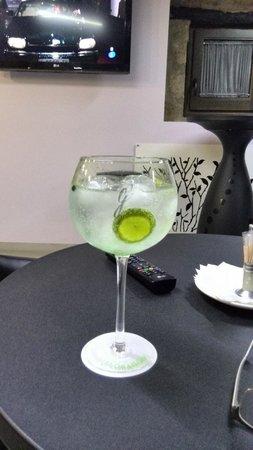 Hotel Restaurante Masia la Torre: Para rebajar un Gin