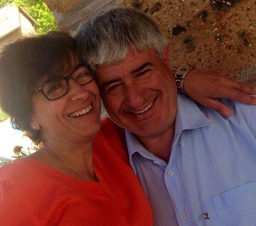 Villa Vacasio : Laura und Roberto
