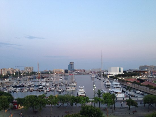 H10 Port Vell : View from Pool Deck