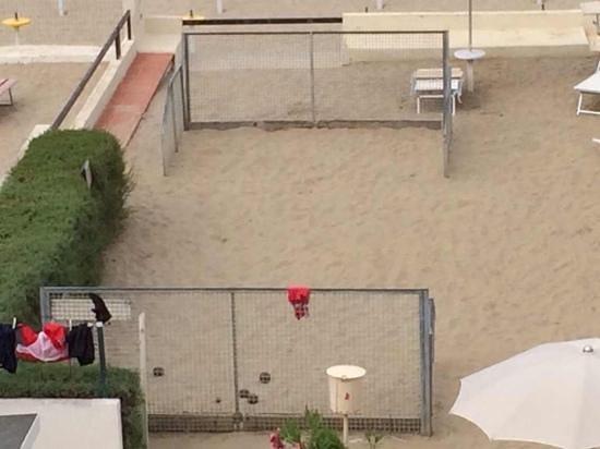 Hotel Vienna: gioco delle bocce in spiaggia