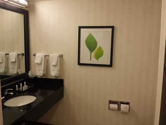 Fairfield Inn & Suites Elkin Jonesville : Bathroom 2 Qn bds