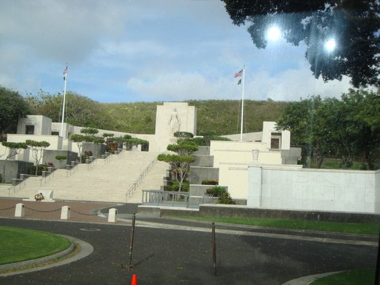 National Memorial Cemetery of the Pacific : A magnificent sight