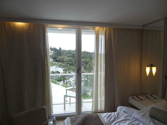 Amfora Hvar Grand Beach Resort: vista da varanda do segundo quarto