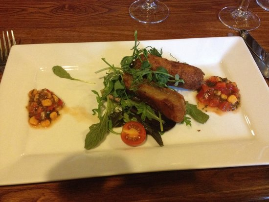 The Black Boys Hotel & Restaurant: Pork Belly special starter
