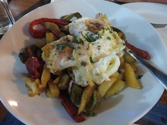 Can Bernat des Grau : patate e uova