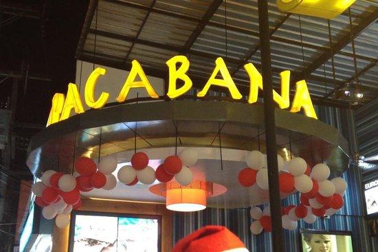 Copacabana Restaurant: RISTORANTE COPACABANA