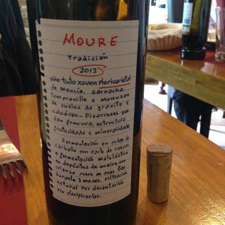 Abaceria o Batuxo: Mencia wine