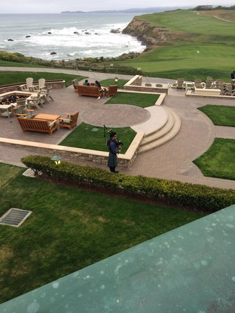 The Ritz-Carlton, Half Moon Bay : Bag Pipes at Sunset