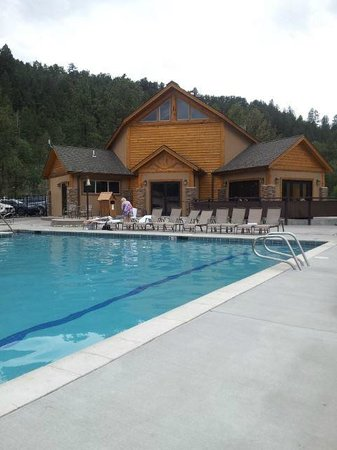 Mount Princeton Hot Springs Resort: Spa pool