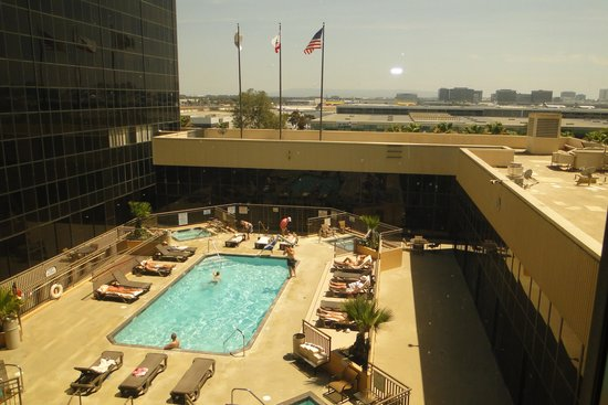 Hilton Los Angeles Airport : View from the room