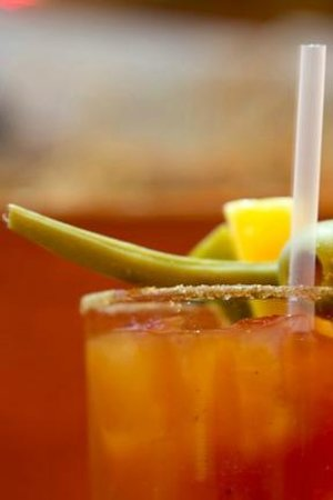 Three Fingered Jack's Saloon: Best Bloody Marys!