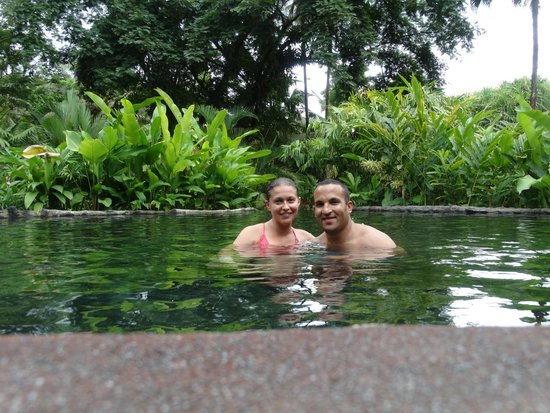 Tabacon Thermal Resort & Spa : At the thermal springs