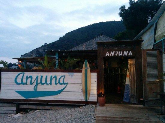 Anjuna Plage Privée - Restaurant : Entrée du restaurant