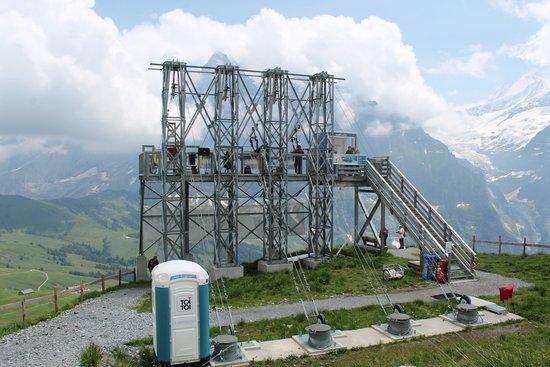 Grindelwald, Suíça: starting platform