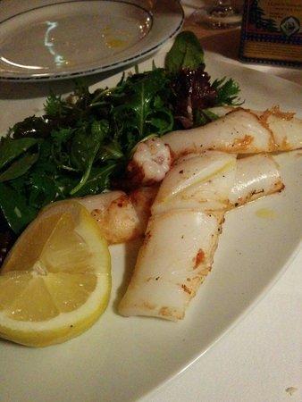 Anjuna Plage Privée - Restaurant : Calamars cuits à la plancha