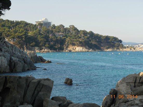 Hotel Cap Roig : Vue