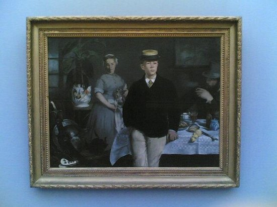 New Pinakothek: Colazione nell'atelier - Manet