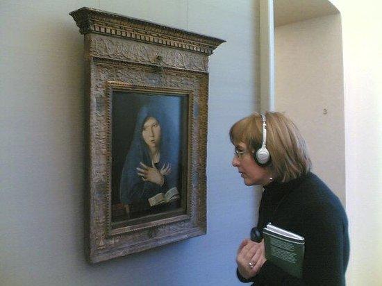 New Pinakothek : Si può osservare da vicino !