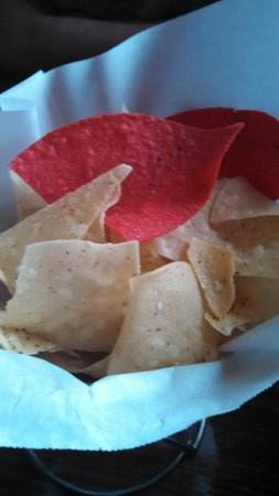 Cactus Jack's: Home made chips