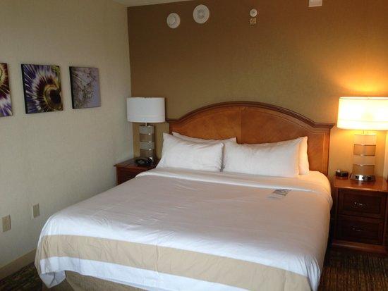 Norfolk Waterside Marriott : Bedroom