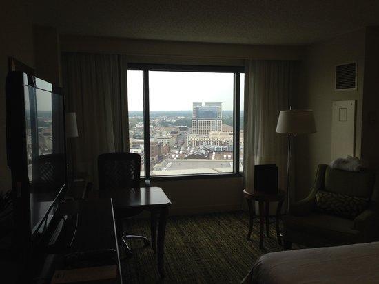 Norfolk Waterside Marriott: View of downtown Norfolk