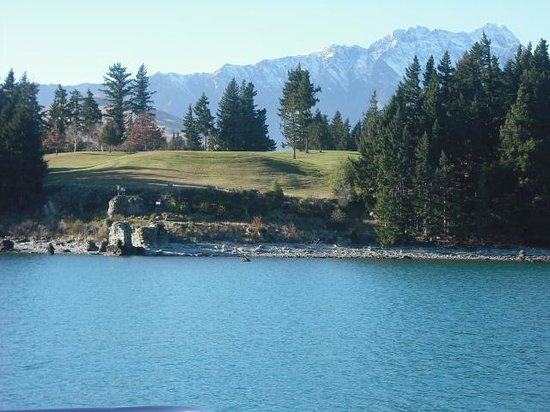 Million Dollar Cruise: A view of the golf course from the trip