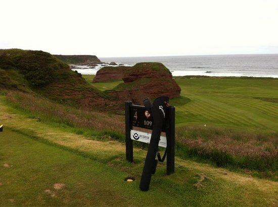 Cullen, UK: Golf course