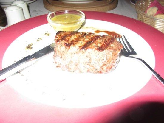 Hotel Croatia Cavtat : Great steak in the steak house