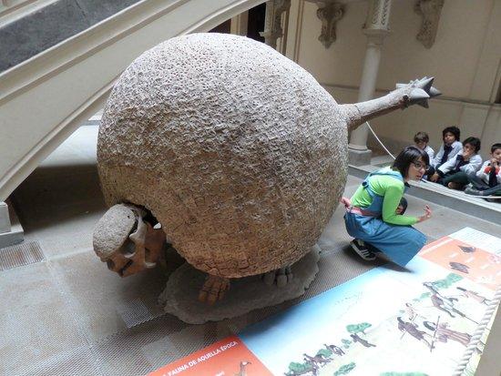 Museum of Pre-Columbian and Indigenous: Professora explicando sobre a réplica