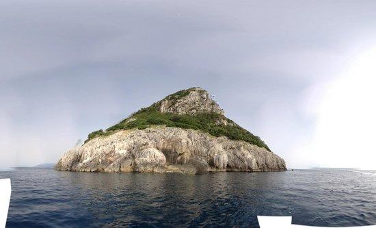 Banana Sport Capri Boat : More of the view around Capri