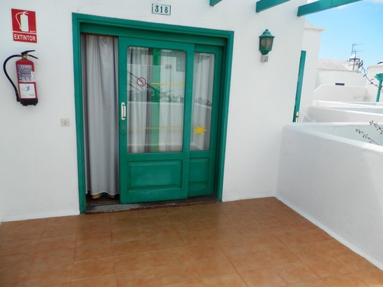 Celeste Apartments : Terrace 3